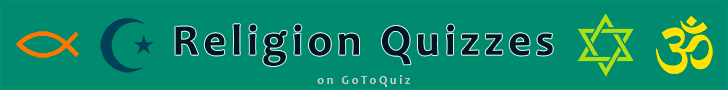 Take Religious Quizzes