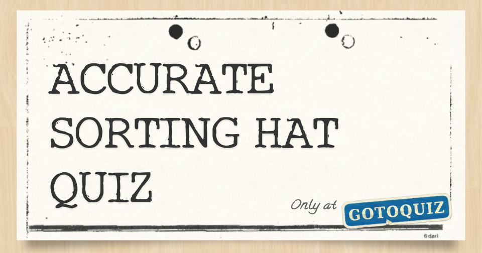 picture regarding Printable Sorting Hat Quiz named Proper SORTING HAT QUIZ