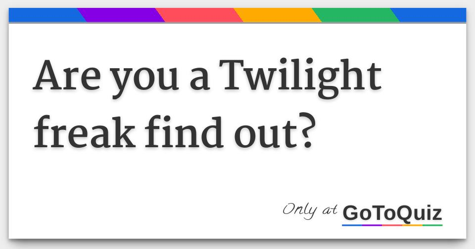 find a freak