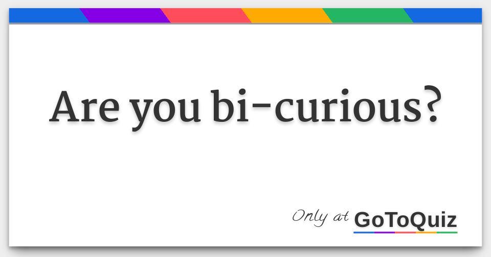 Bi curious sexual orientation