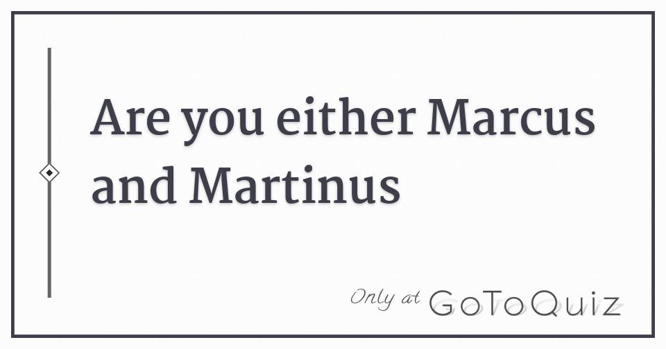 marcus and martinus lyric