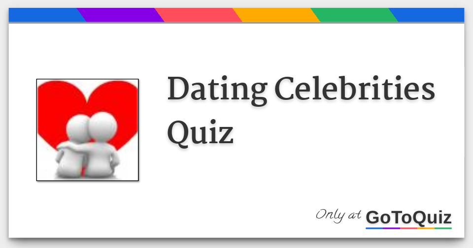 celeb dating quizzes Beste Dating-Website christian