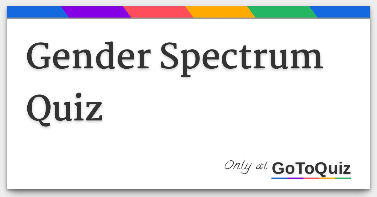 Your sexual orientation quizzes for fun