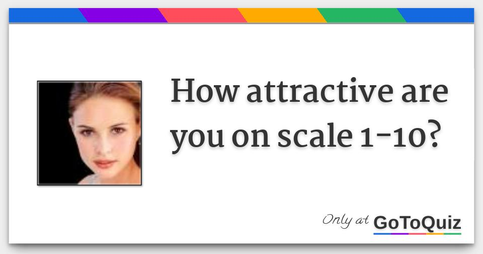 Am i attractive quiz for girls