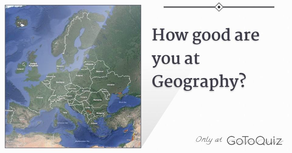 how to be good at geography