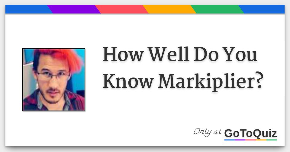 How Well Do You Know Markiplier Darkiplier started out as a fan concept back in 2012, which mark would allude to from time to time … how well do you know markiplier
