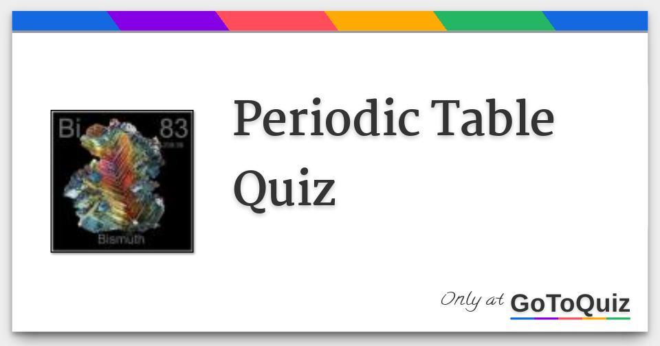 Periodic table quiz periodictablequiz3 fg urtaz Choice Image