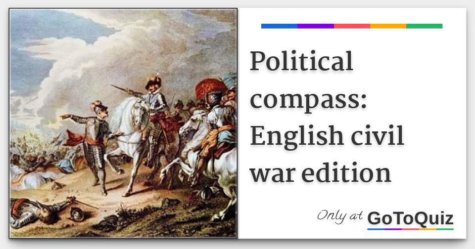 Political compass: English civil war edition