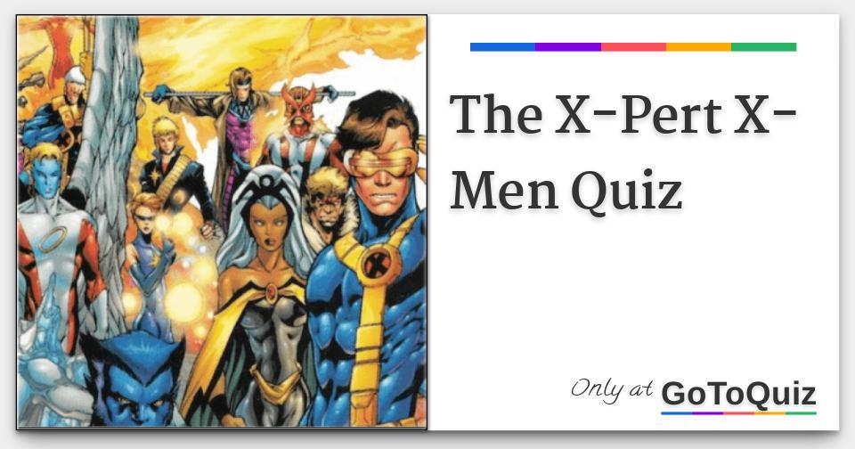 x men character quiz