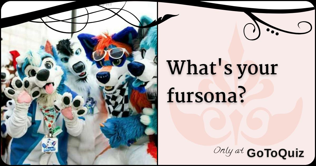What's your fursona?