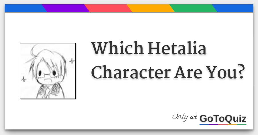 hetalia quiz what they think of you