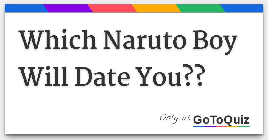 naruto dating quizzes