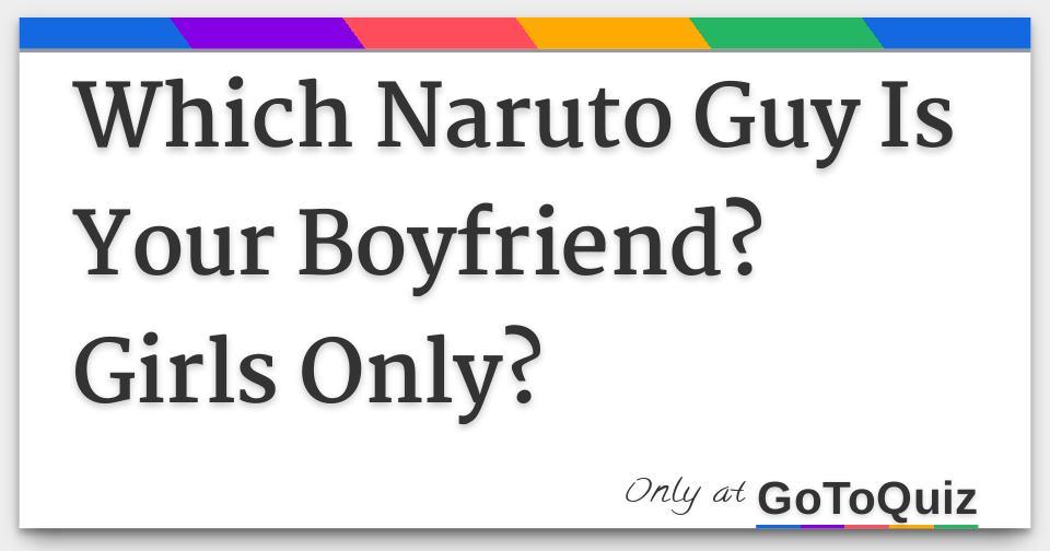 Naruto dating quiz long results