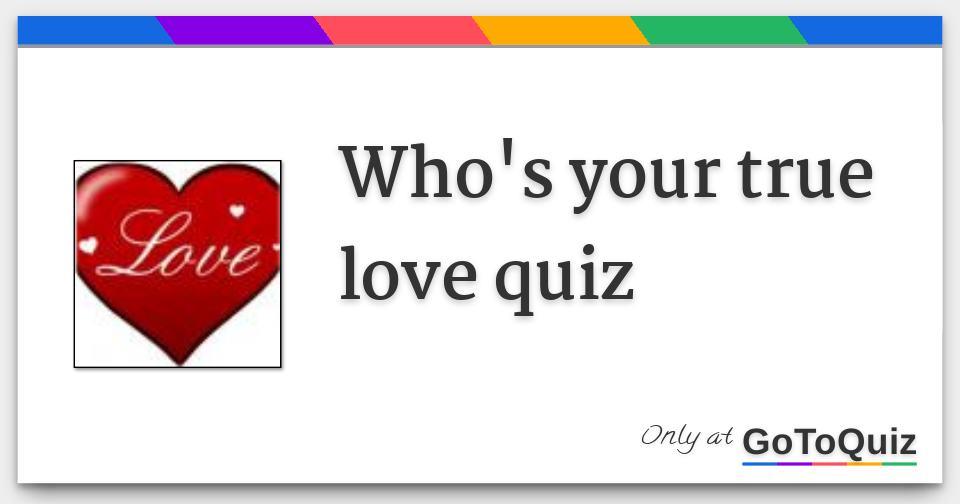 Love test true real ❤ True