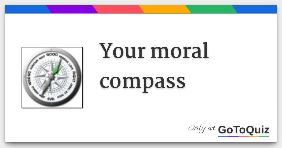 Compass test moral Activity 2: